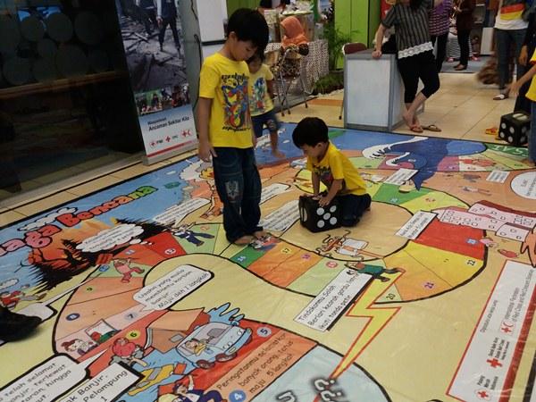 Belajar sambil Bermain Ayo Siaga Bencana di Pameran Pembangunan 2016