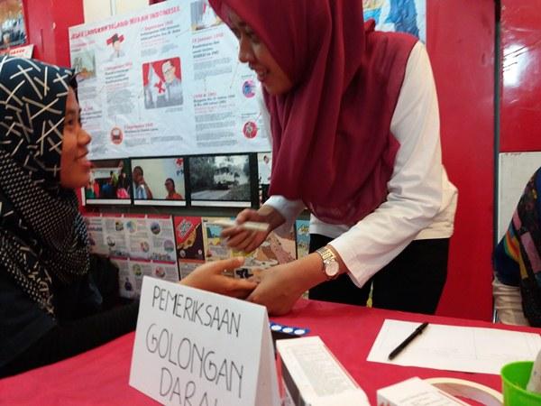 Check Golongan darah gratis